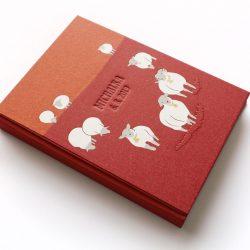 Deník miminka Ovečky červený