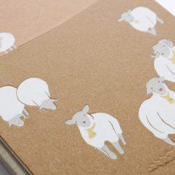 Deník miminka Ovečky pro ražbu detail