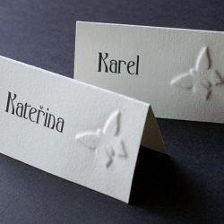 Svatební kolekce motýli