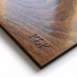 dřevěné album K&K