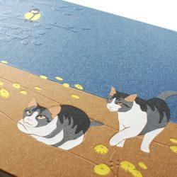album Okrové kočičky