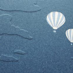 album Modré létající balóny