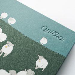 album Zelené ovečky s ražbou