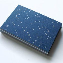 zápisník B5 Noční obloha