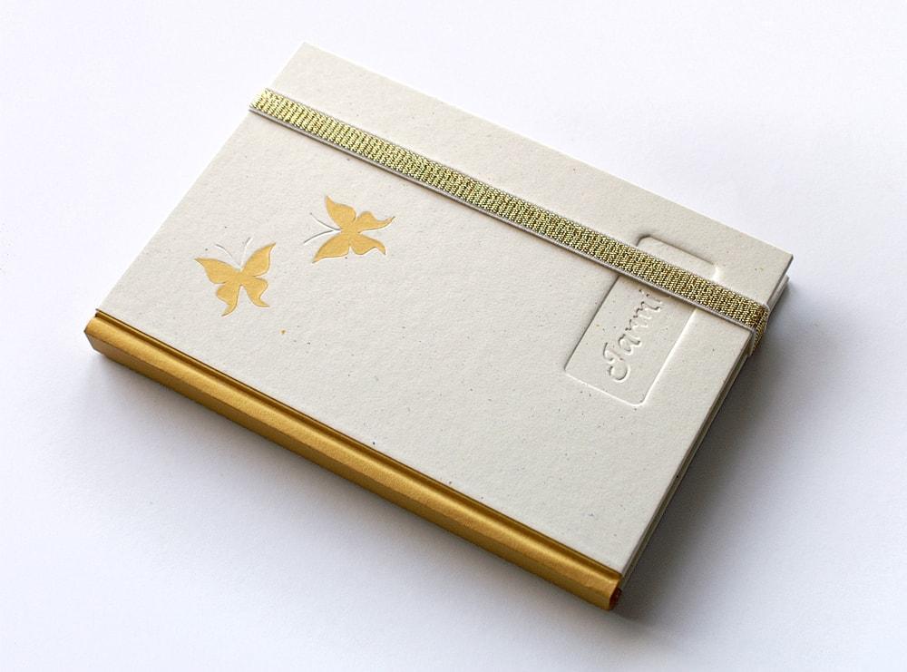 deník Zlatí motýli