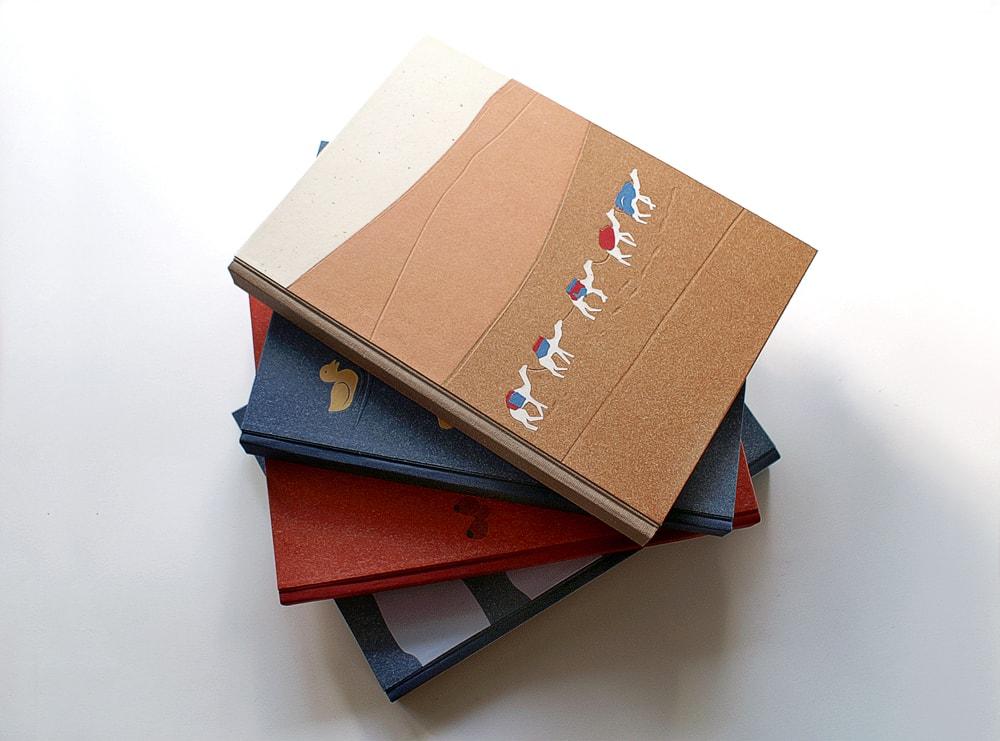 zápisníky B5