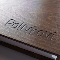 dřevěné album Polívkovi