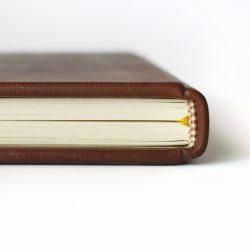 Kožený deník B5