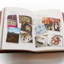 kožená kniha Pouto